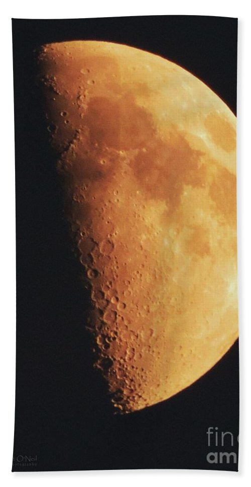 Moon Bath Sheet featuring the photograph Fly Me To The Moon by Robert ONeil