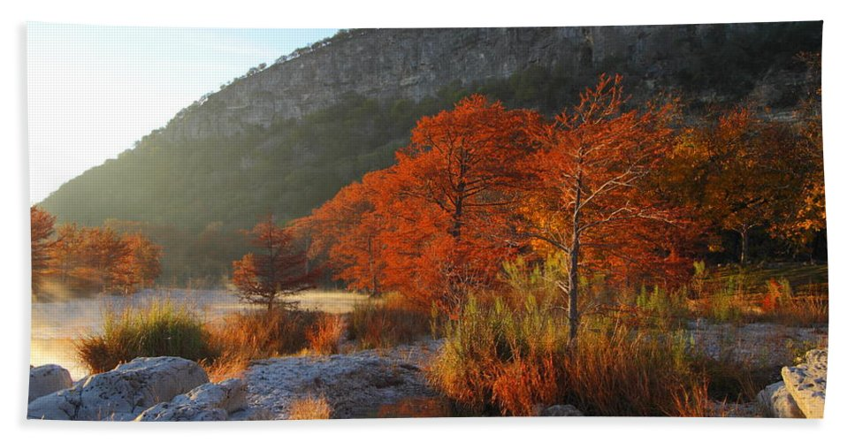 Fog Hand Towel featuring the photograph Foggy Frio #6 2am-109069 by Andrew McInnes