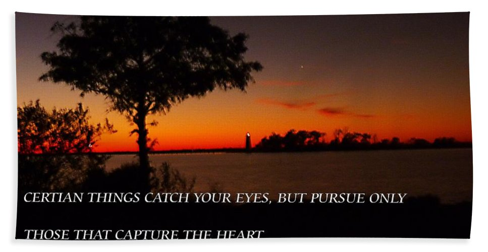Bath Sheet featuring the photograph Follow Your Heart by Anthony Walker Sr