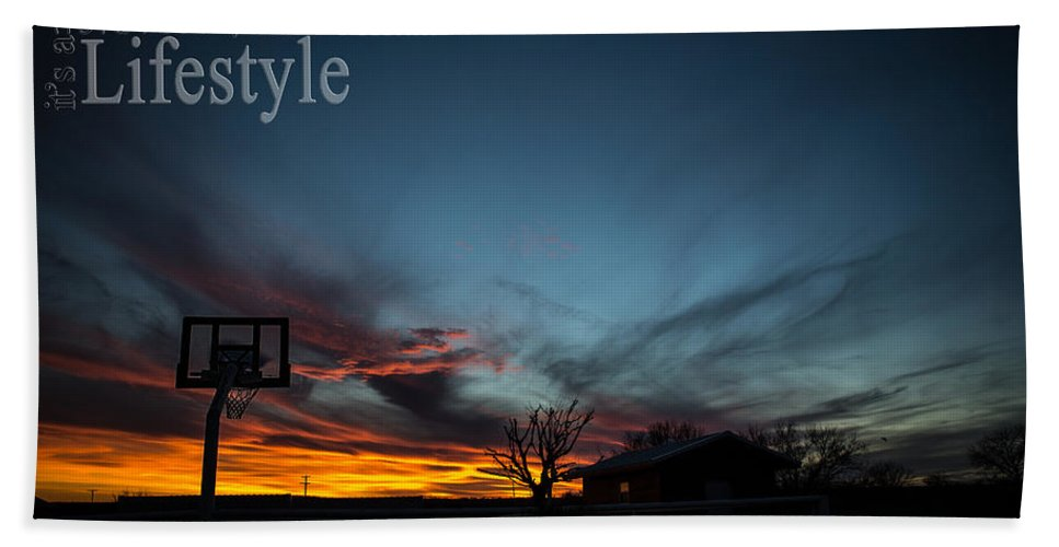 Landscape Hand Towel featuring the photograph For The Love Of The Game by Kelli Brown