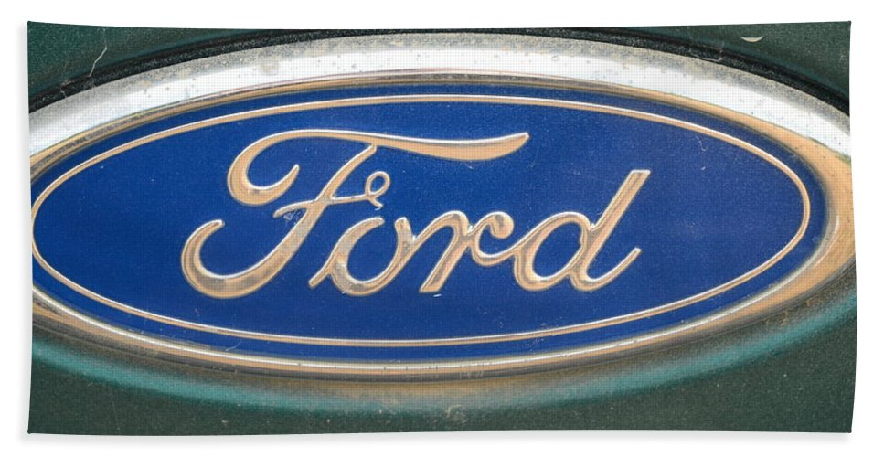 Ford Hand Towel featuring the photograph Ford by Kim Stafford