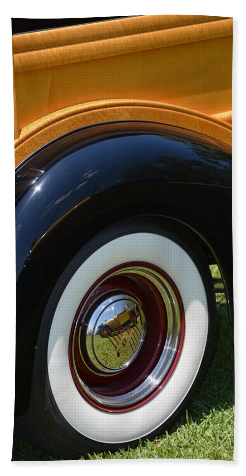 Ford Bath Sheet featuring the photograph Ford Wagon by Gale Cochran-Smith
