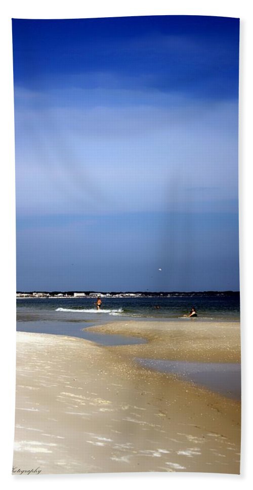 Florida Hand Towel featuring the photograph Forida Beach by Debra Forand