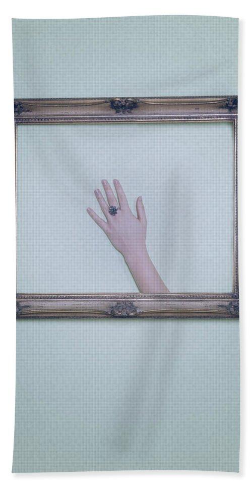 Frame Hand Towel featuring the photograph Framed Hand by Joana Kruse