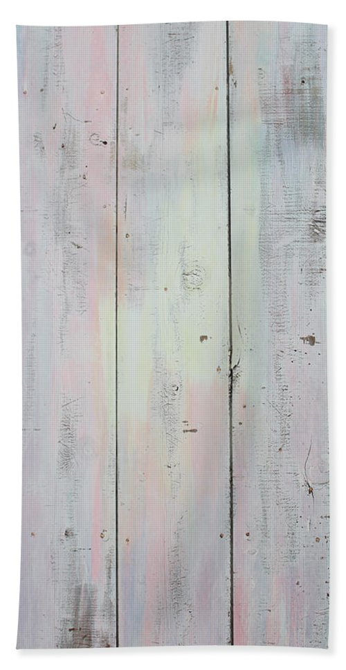 Painted Door Bath Sheet featuring the sculpture French Door In California by Asha Carolyn Young