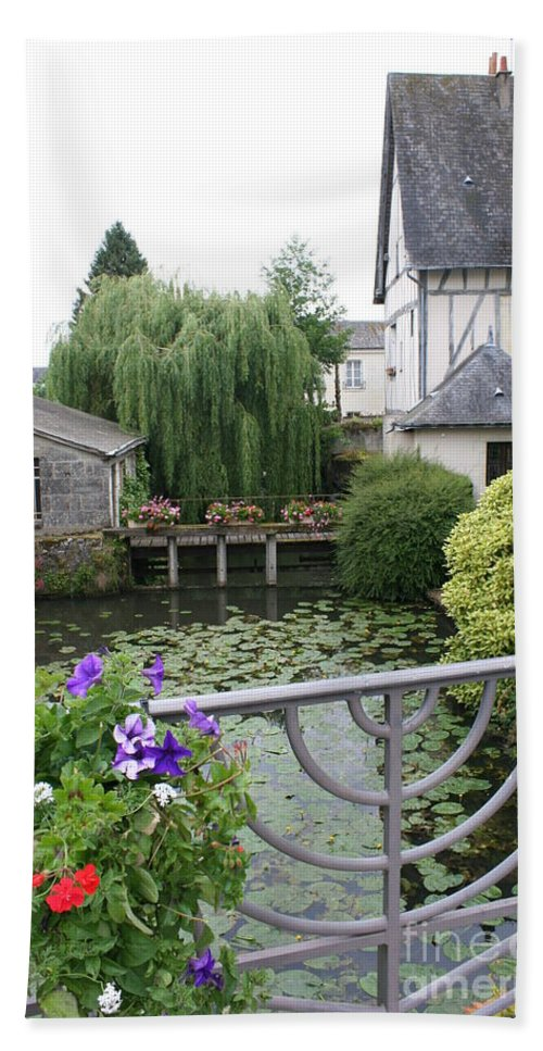 Village Bath Sheet featuring the photograph French Village by Christiane Schulze Art And Photography