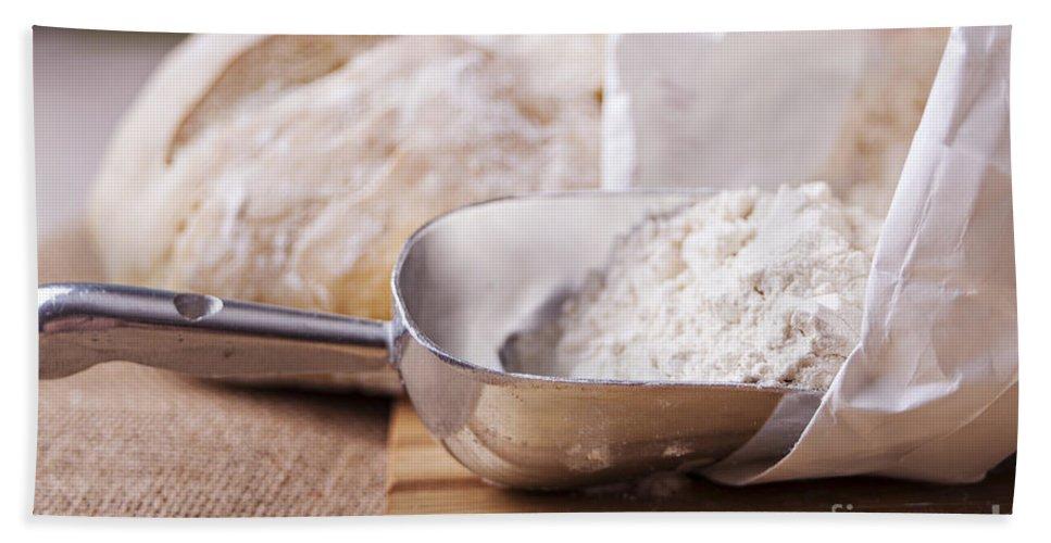 Canvas Bath Sheet featuring the photograph Fresh Bread by Sophie McAulay