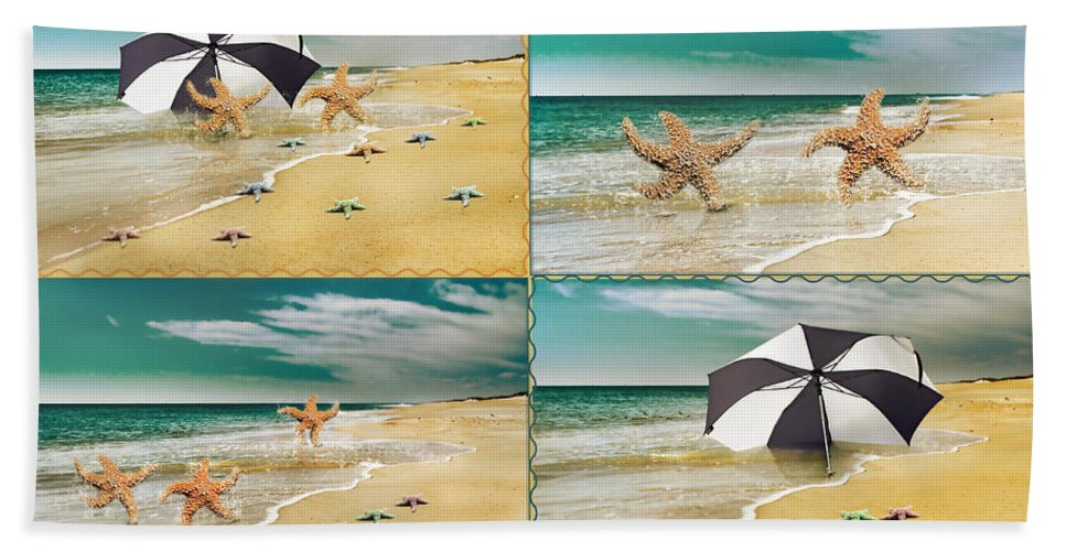 Starfish Hand Towel featuring the photograph Fresh From The Sea by Betsy Knapp