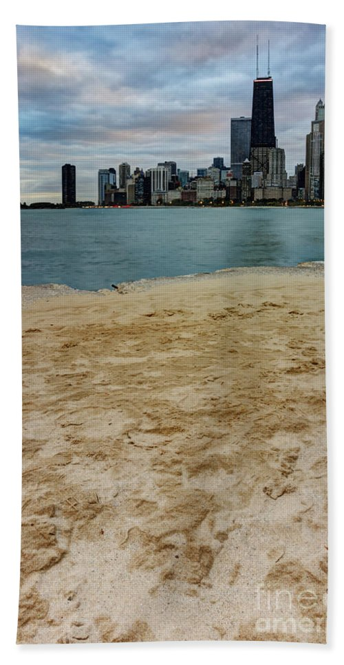 Chicago Hand Towel featuring the photograph From North Avenue Beach by Margie Hurwich