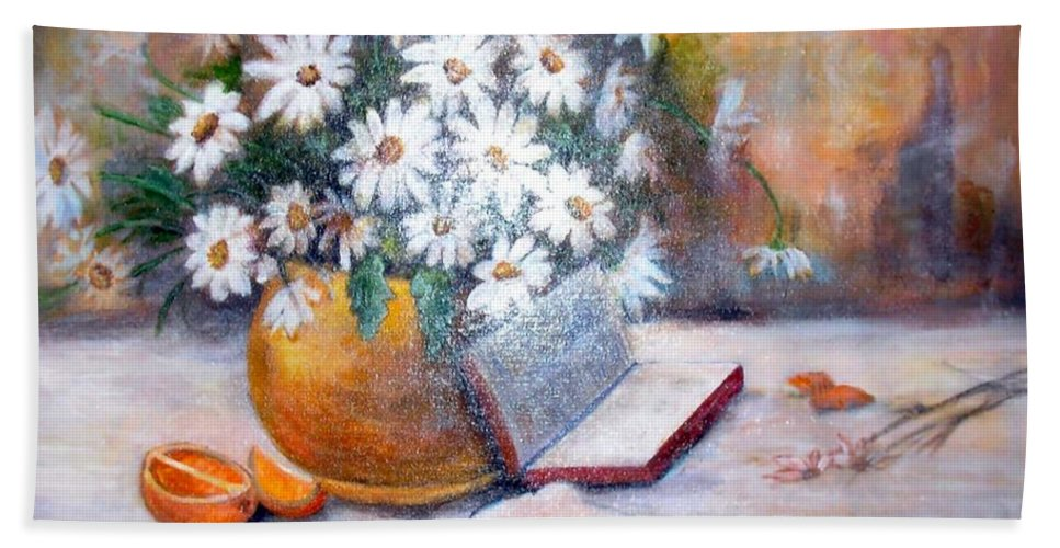 Bible Hand Towel featuring the painting Fruit Of The Spirit by Judie White