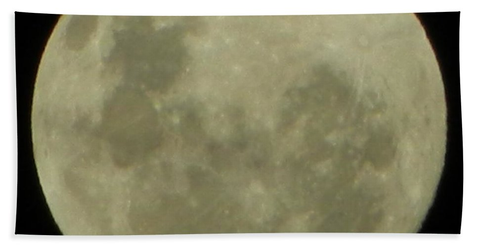 Moon Bath Sheet featuring the photograph Full Moon 2 by Gallery Of Hope
