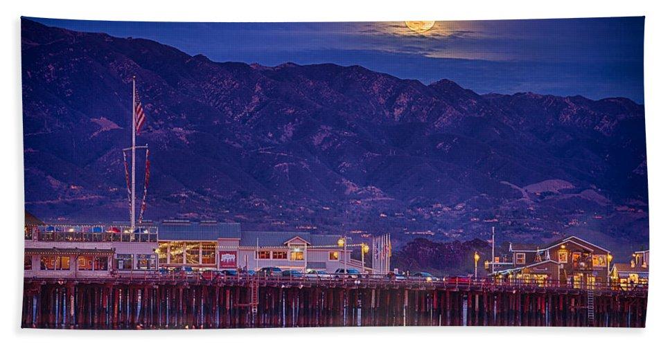 Full Moon Bath Sheet featuring the photograph Full Moon Rising #2 by Shauna Milton