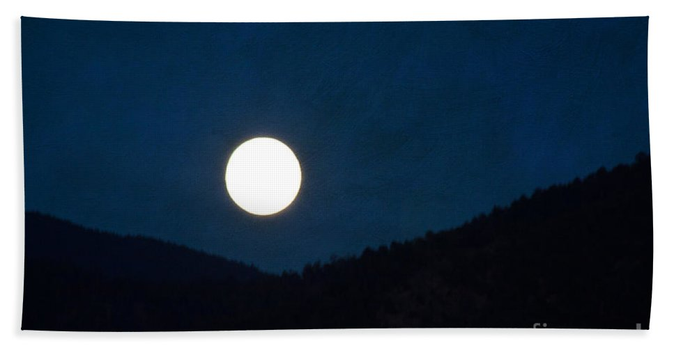 Moon Bath Sheet featuring the photograph Full Moon Tonight by Roselynne Broussard