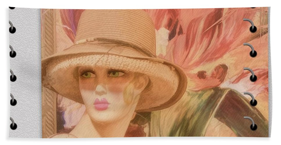 Fun And Flirty Hand Towel featuring the photograph Fun And Flirty by Liane Wright
