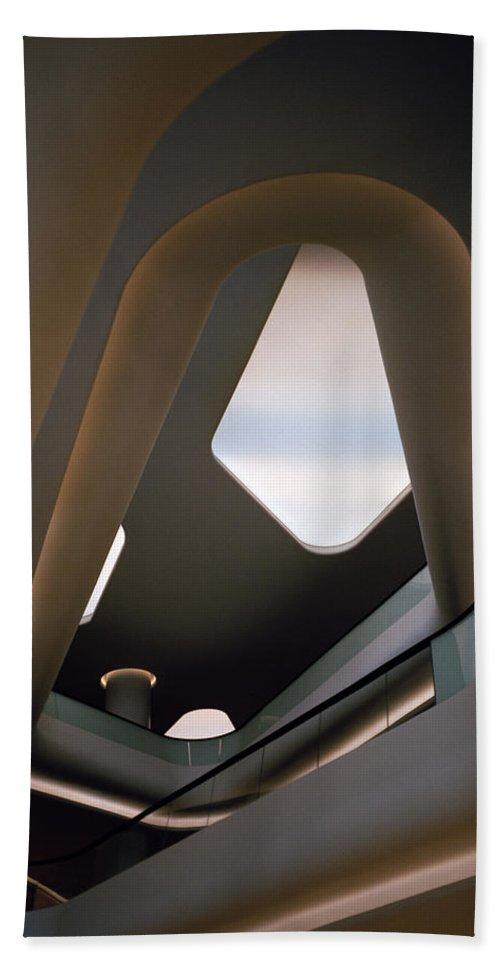 Futurism Hand Towel featuring the photograph Futuristic Dream by Shaun Higson