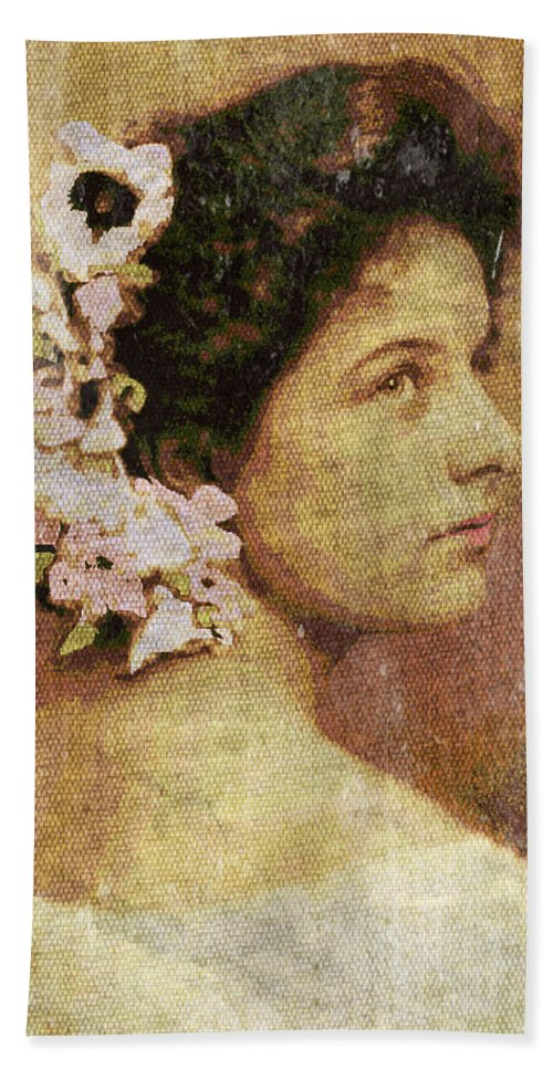 Geraldine Farrar Hand Towel featuring the photograph Geraldine Farrar by Absinthe Art By Michelle LeAnn Scott