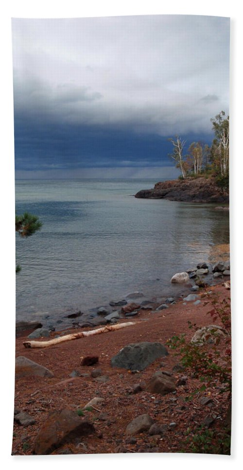 Melissa Peterson Nature Photography Scenic Scenery Iona's Beach Beaches Hand Towel featuring the photograph Get Lost In Paradise by James Peterson