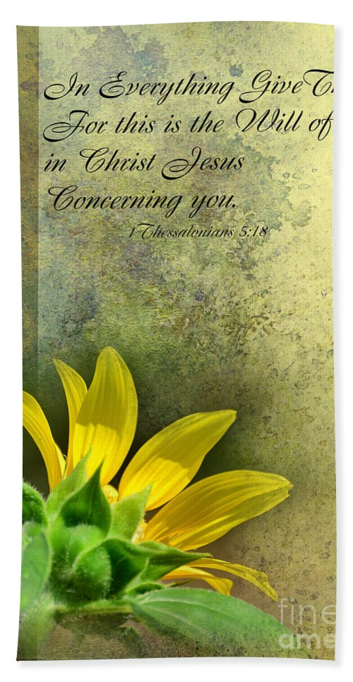 Season Hand Towel featuring the photograph Give Thanks V by Debbie Portwood