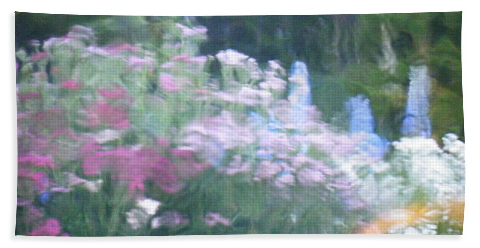 Giverny Bath Sheet featuring the photograph Giverny North Number Nine by Brian Boyle