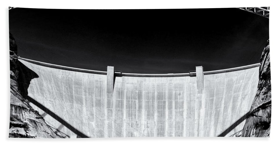 Dam Hand Towel featuring the photograph Glen Canyon Dam by Dominic Piperata
