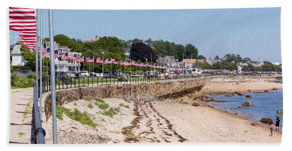 Gloucester Bath Sheet featuring the photograph Gloucester In July by John M Bailey