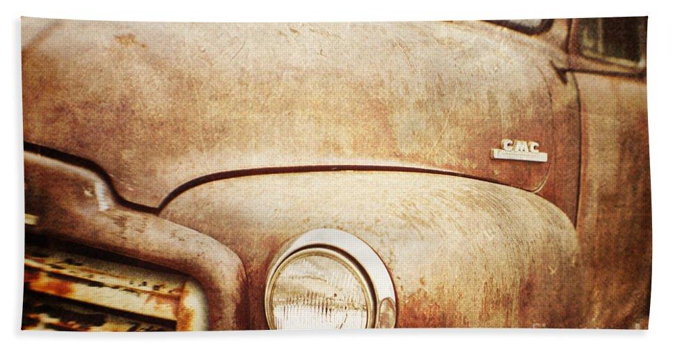Truck Hand Towel featuring the photograph GMC by Scott Pellegrin