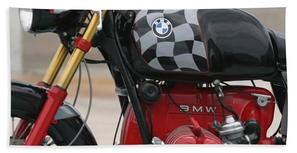 Bmw Motorcycle Hand Towel featuring the digital art Going Somewhere by Marvin Blaine