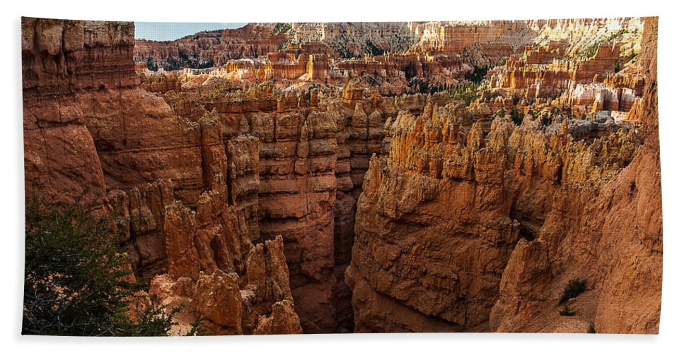 Bryce National Park Bath Sheet featuring the photograph Going To Wall Street by Joan Wallner