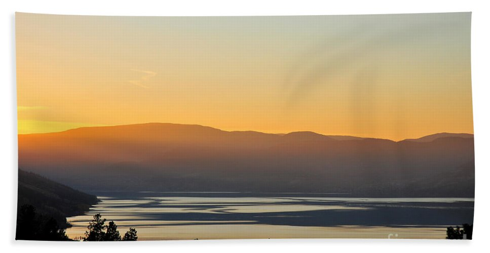 Landscape Bath Sheet featuring the photograph Gold by Angela Maher