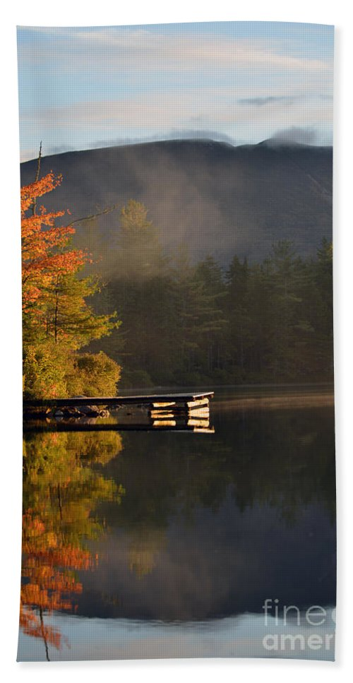 Fall Foliage Bath Sheet featuring the photograph Golden 5107 by Terri Winkler