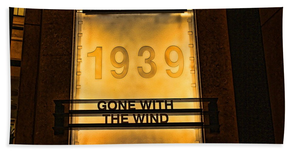 Gone With The Wind Hand Towel featuring the photograph Gone With The Wind by Tommy Anderson