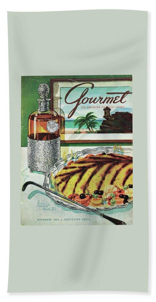 Gourmet Cover Of An Omelette Au Ruhm Bath Towel