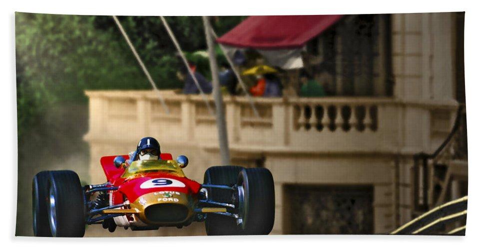 Monaco Bath Sheet featuring the photograph Graham's Monaco 1968 by Craig Purdie