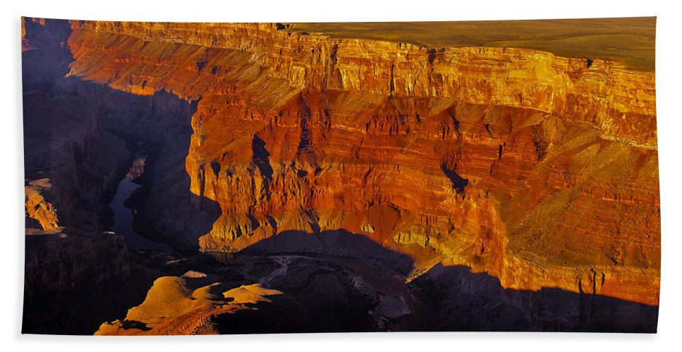 Arizona; Arizona Canyon; Canyon; United States; Usa; Southwest; Clouds; America; American; Beauty; Black; Deep; Desert; Environment; Erosion; Formation; Geology; Grand; Hand Towel featuring the photograph Grand Canyon 12 by Ingrid Smith-Johnsen