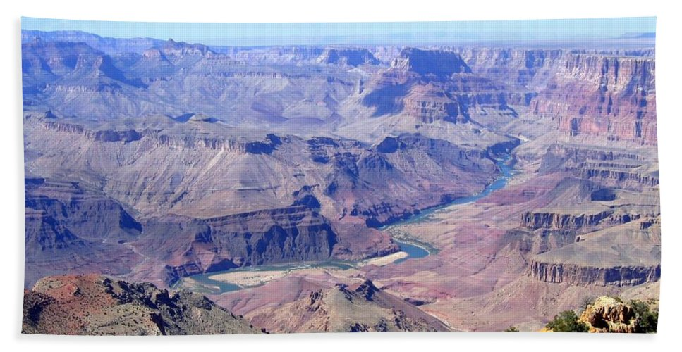 Grand Canyon Hand Towel featuring the photograph Grand Canyon 64 by Will Borden