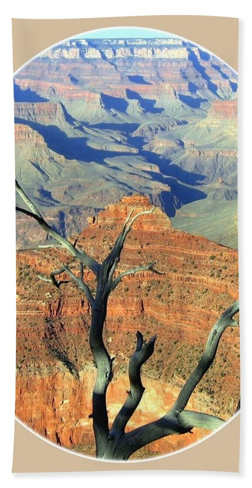 Grand Canyon 77 Hand Towel featuring the photograph Grand Canyon 77 by Will Borden