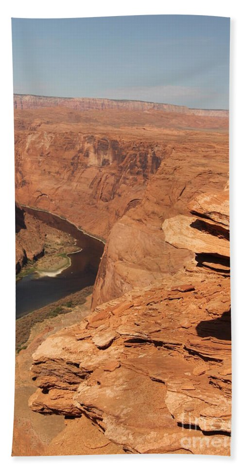Grand Canyon Hand Towel featuring the photograph Grand Canyon by Diane Greco-Lesser