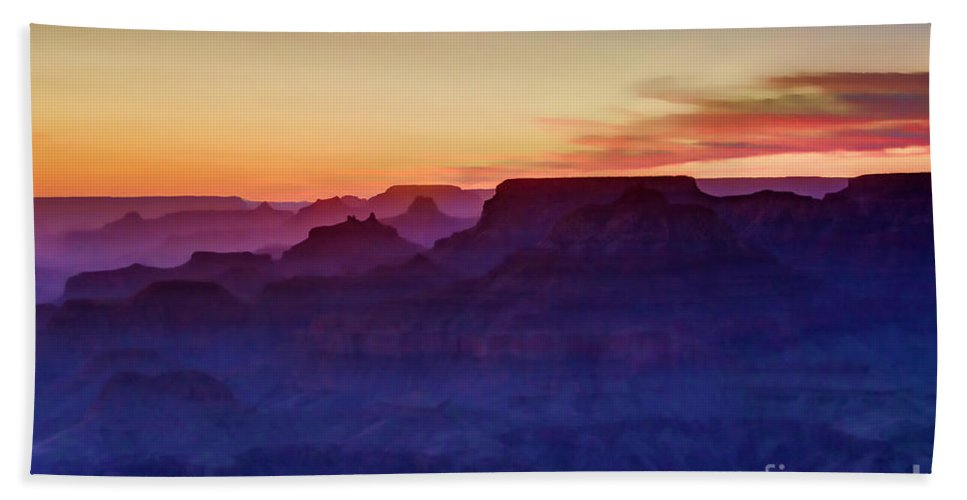 Grand Canyon Bath Towel featuring the photograph Grand Canyon Sunset by Stacy Lynne Photography