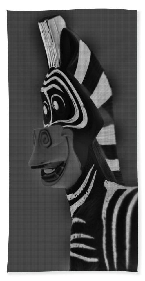 Zebra Bath Sheet featuring the photograph Gray Zebra by Rob Hans