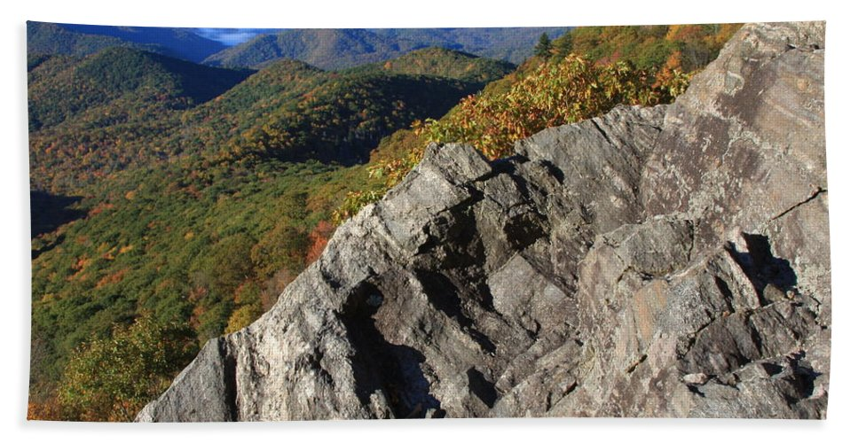 Blue Ridge Bath Sheet featuring the photograph Great Balsam Mountains - Blue Ridge Parkway by Mountains to the Sea Photo