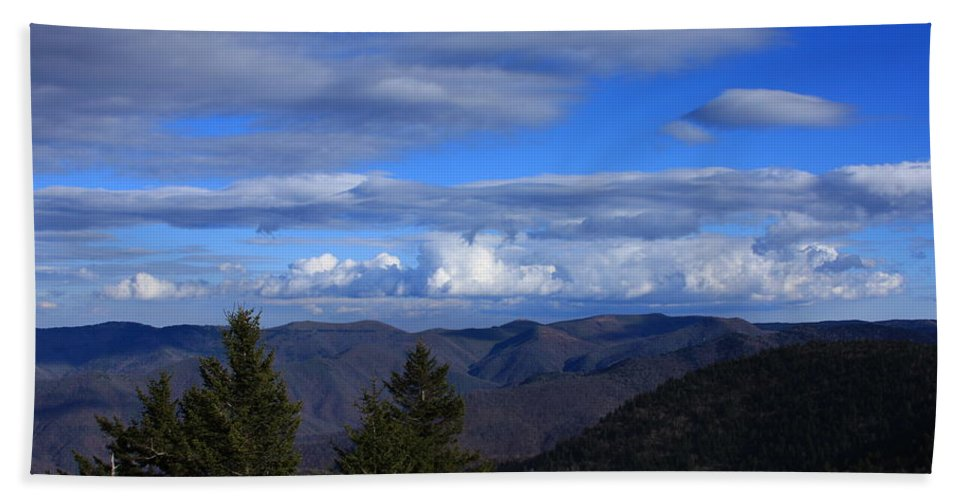 Great Balsam Mountains Bath Sheet featuring the photograph Great Balsam Mountains-north Carolina by Mountains to the Sea Photo