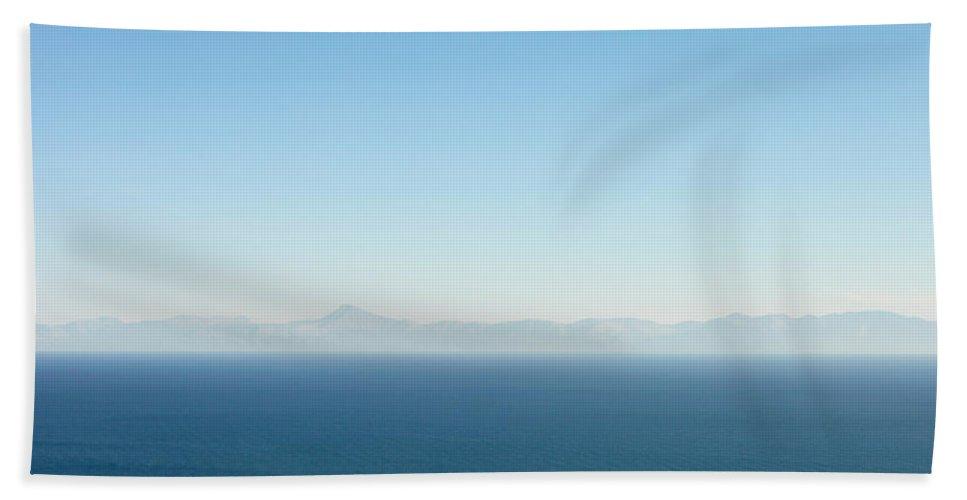 Aegean Bath Sheet featuring the photograph Greek Panorama by Tom Gowanlock