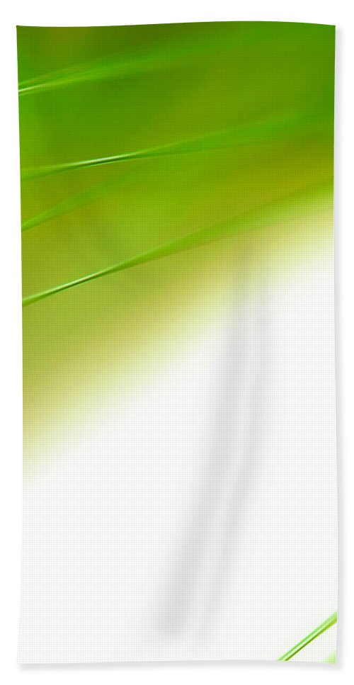 Abstract Hand Towel featuring the photograph Green River by Dazzle Zazz