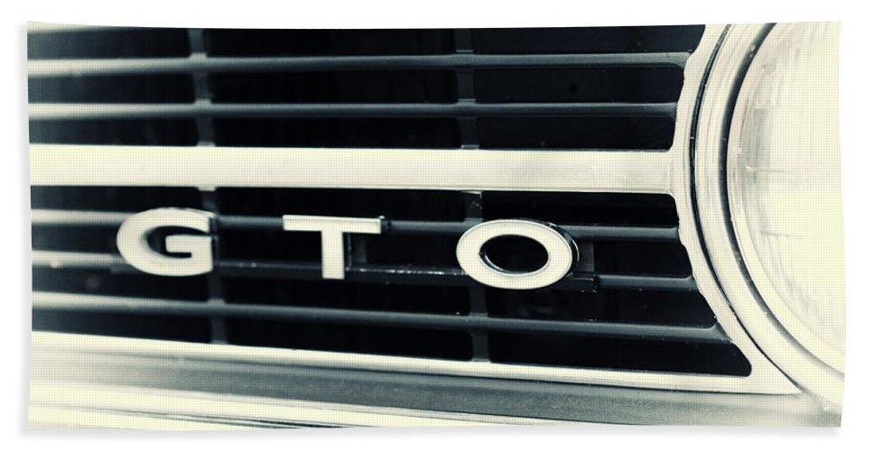 Gto Hand Towel featuring the photograph GTO by Karol Livote