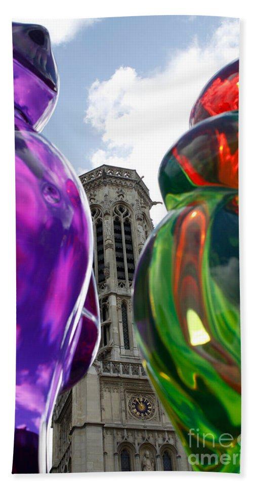 Paris Hand Towel featuring the photograph Gummy Bears Still On Tour by Donato Iannuzzi