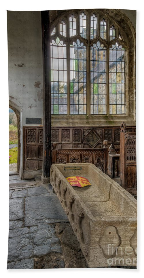 13th Century Bath Sheet featuring the photograph Gwydir Chapel by Adrian Evans