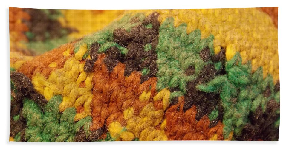 Hacky Sack Bath Sheet featuring the photograph Hacky Sack by Brent Dolliver