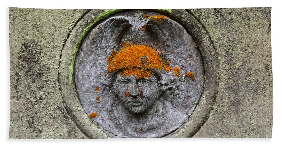 Cemetery Bath Sheet featuring the photograph Hair Transplant by James Brunker