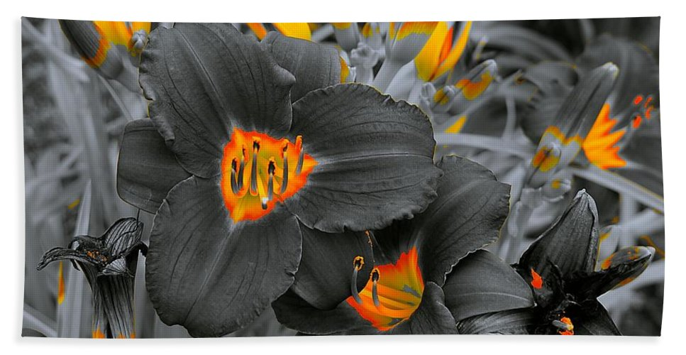 Floral Hand Towel featuring the photograph Havens Of Nectar by Tim G Ross