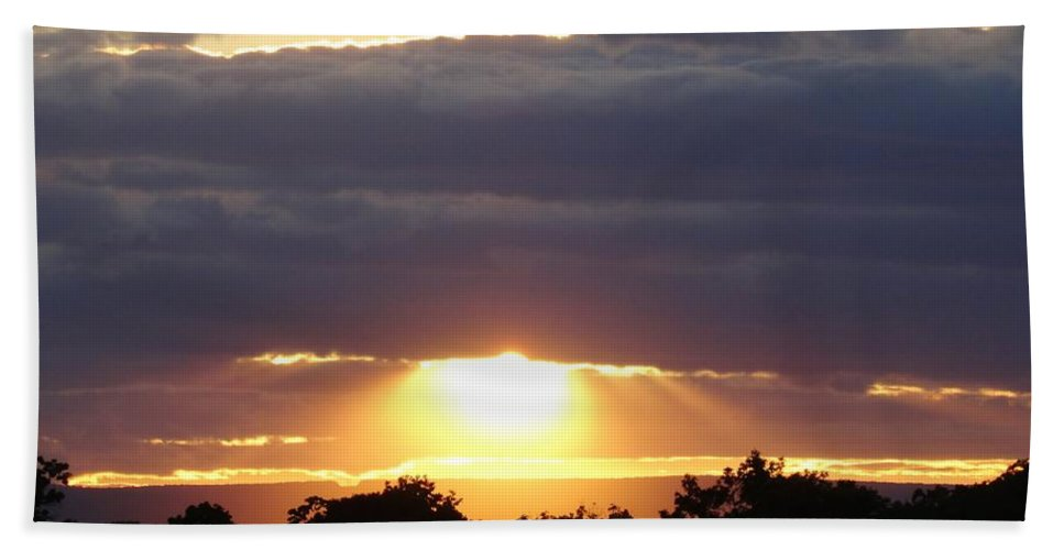 Heaven Bath Sheet featuring the photograph Heaven's Rays 3 by Scenic Sights By Tara
